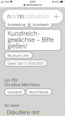 Museum Ulm, Open call